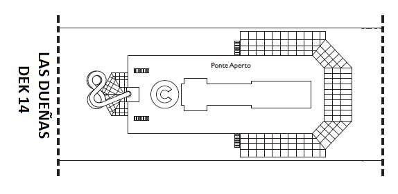 Costa Fortuna Dek 14 Las Palmas