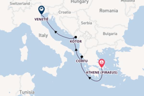 Geniet van een 4-daagse cruise naar Venetië
