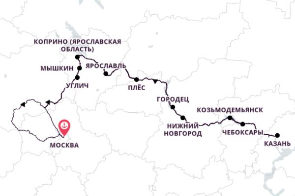 Путешествие из Москвы