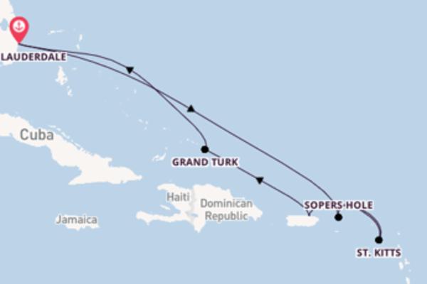 Cruise in 9 dagen naar Fort Lauderdale met Princess Cruises
