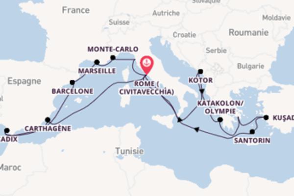 Visitez avec Holland America Line, la destination: Kuşadası/Éphèse