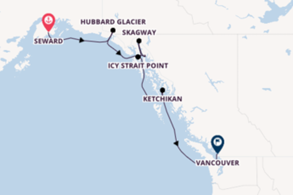 Cruising with the Celebrity Millennium to Vancouver from Seward