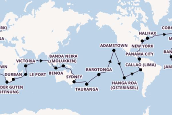 144 Tage Weltreise mit der Amera