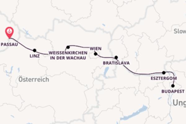Erleben Sie Weißenkirchen in der Wachau auf der MS VistaSun