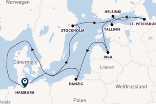 13 Tage Sommer an der Ostsee
