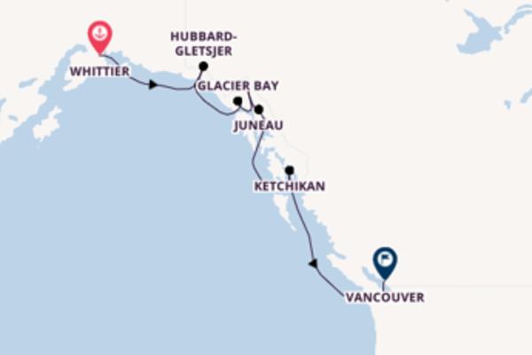 8-daagse reis aan boord van de Noordam