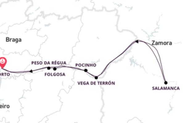 Cruzeiro inesquecível em Portugal e Espanha