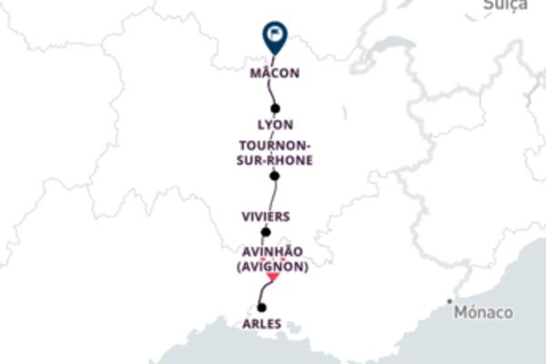 De Avignon para Lyon