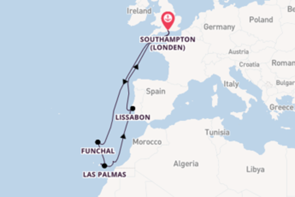 Geniet van het romantische Funchal met Cunard