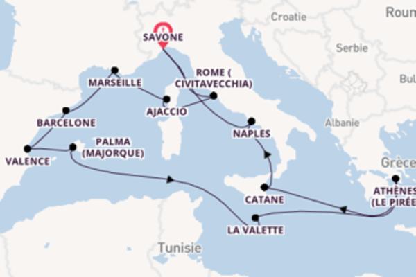Explorez avec Costa Croisières , la destination: Barcelone
