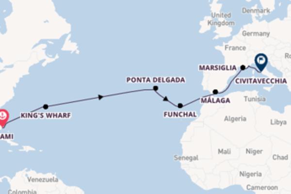 Lasciati conquistare da Málaga e Civitavecchia