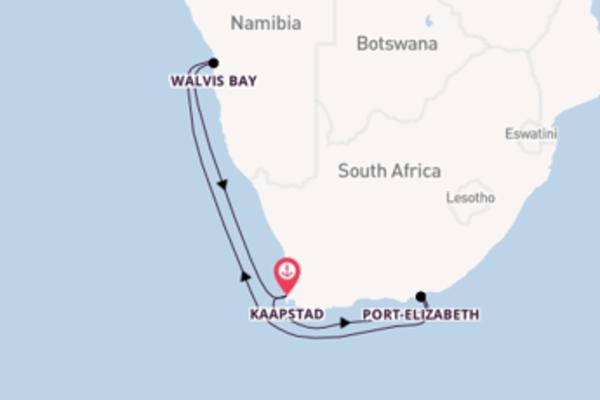 8-daagse reis naar Kaapstad