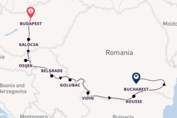 Breath-taking journey from Budapest with Viking River Cruises