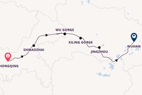 14 day cruise from Beijing to Shanghai