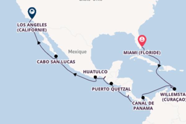 Canal de Panama et une passionante croisière depuis Miami (Floride)