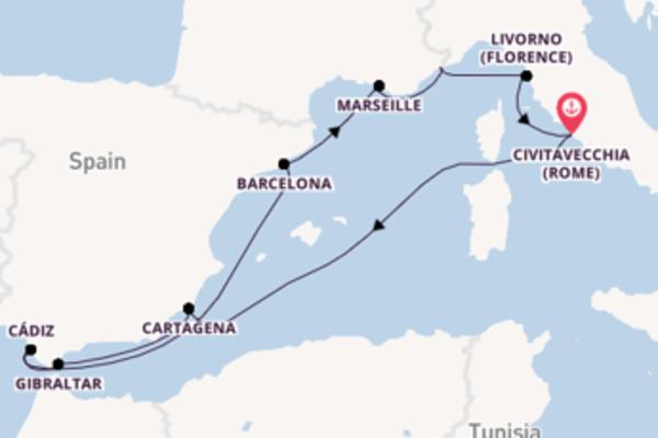 11-daagse reis aan boord van het ms Nieuw Statendam