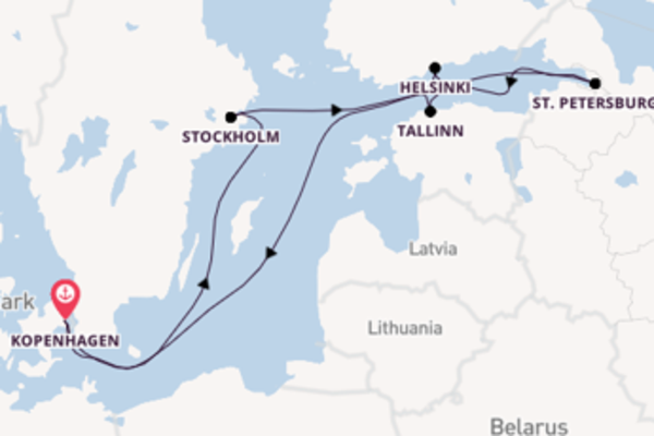 Ontdek Noord-Europa met de Adventure of the Seas