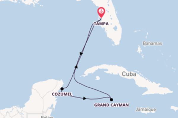 Magnifique balade de 6 jours pour découvrir Ile de Grand Cayman