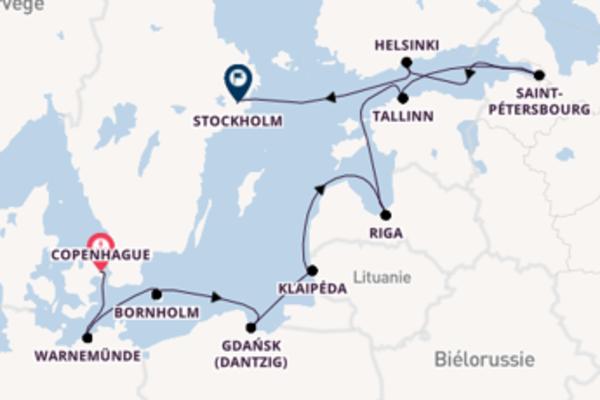Incontournable croisière vers Stockholm via Gdynia