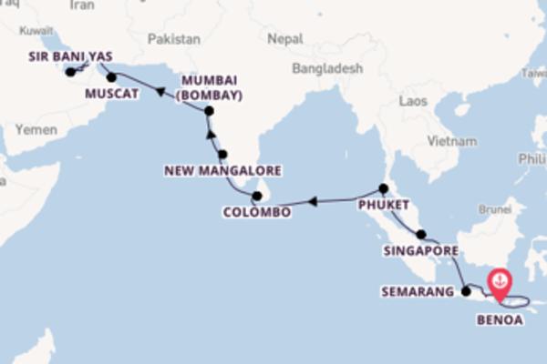 Cruise met Seabourn naar het culturele Dubai