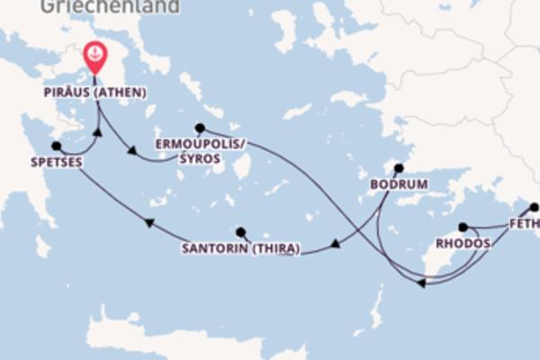 Herrliche Reise nach Piräus (Athen)