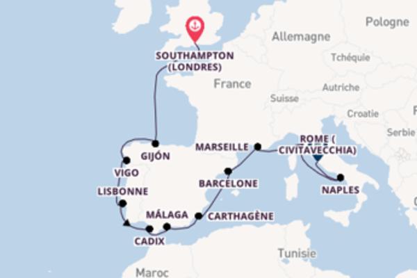 Splendide balade de 13 jours avec Norwegian Cruise Line