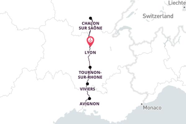 Lyon to Arles 8-Day Adventure