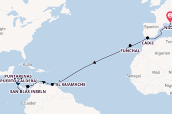 Weihnachten & Silvester Kurs Karibik und Costa Rica