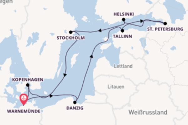 Eindrucksvolle Reise über Stockholm in 11 Tagen