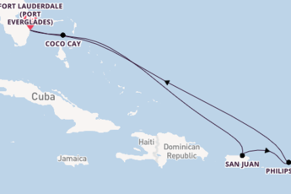 Journey with Royal Caribbean from Fort Lauderdale (Port Everglades)