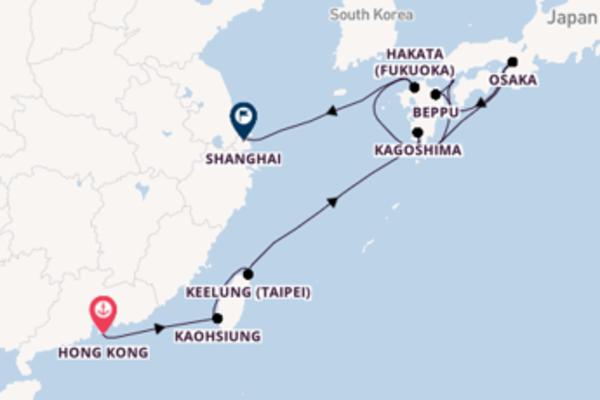 Sail with Silversea from Hong Kong