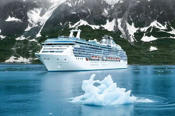 Curta 13 dias a bordo do Island Princess