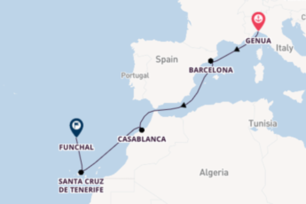 Cruise met MSC Cruises naar het stralende Funchal