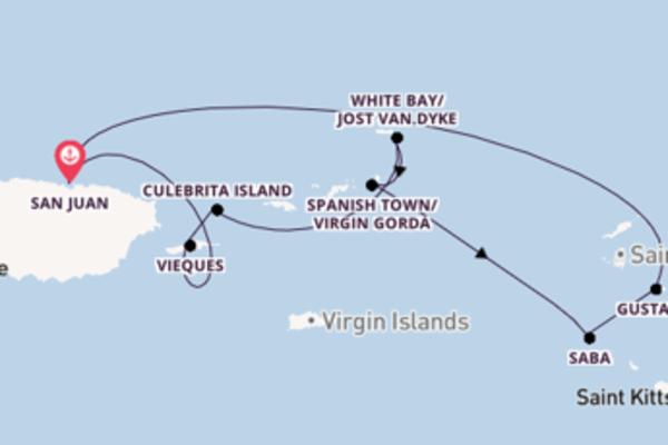 San Juan und Vieques erkunden