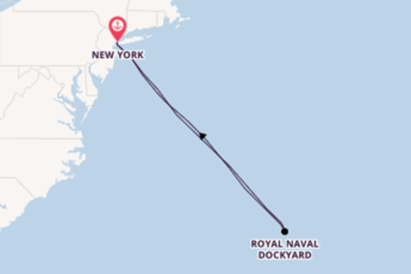 8 day voyage on board the Norwegian Joy from New York