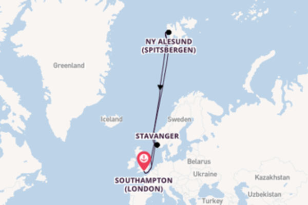 Cruise with P&O Cruises from Southampton (London)