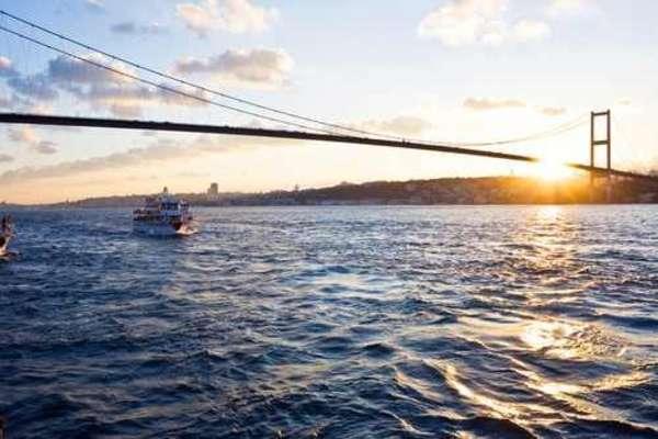 Passage Bosporus, Türkei