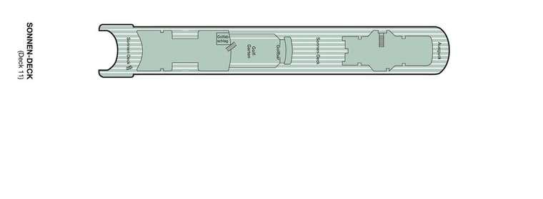 Amadea Deck 11 Sonnendeck