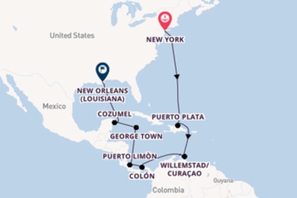Meraviglioso viaggio di 15 giorni verso New Orleans (Louisiana)