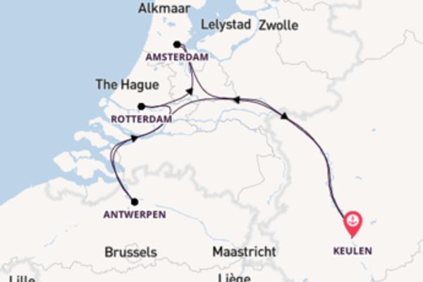 Vaar met de A-ROSA BRAVA naar Keulen