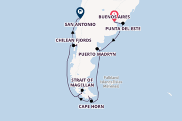 Majestic voyage from Buenos Aires with Celebrity Cruises
