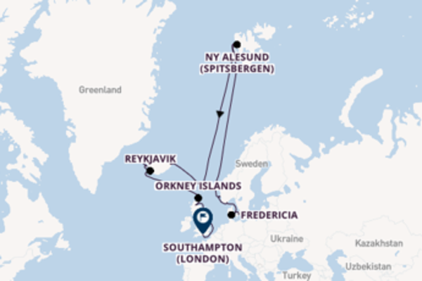 Vibrant voyage from Copenhagen with Princess Cruises