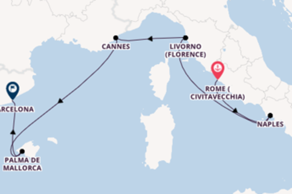 6 day cruise with the Norwegian Epic to Barcelona