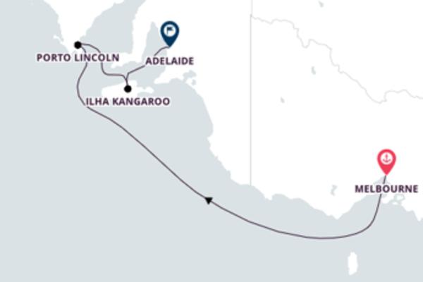 Excepcional passeio de 5 dias até Adelaide