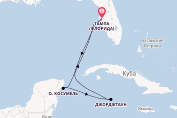 Необыкновенный круиз на 6 дней с Royal Caribbean