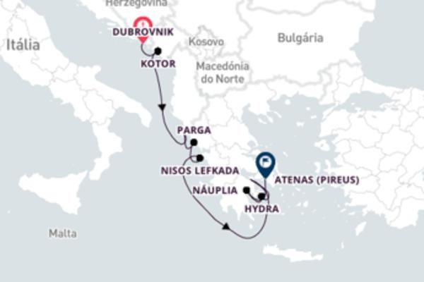 Conheça a Grécia a partir da Croácia