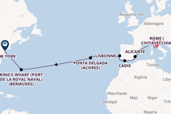 Merveilleuse balade à bord du bateau Norwegian Escape