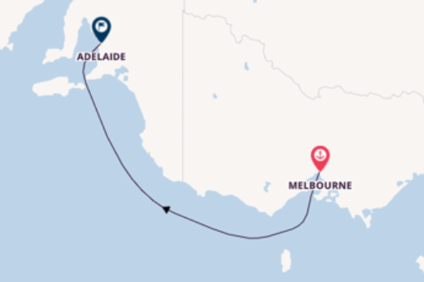 Cruising from Melbourne with the Queen Elizabeth