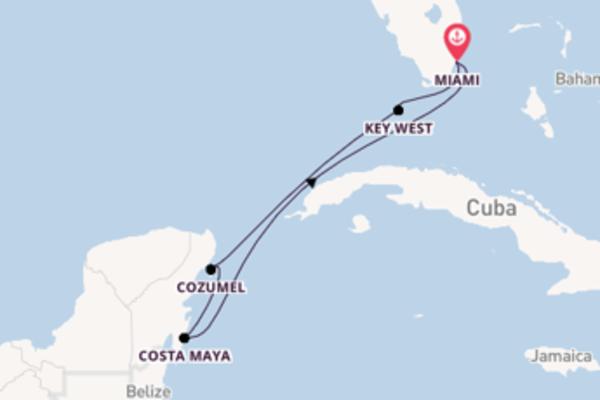 Inebriante crociera di 7 giorni passando per Key West