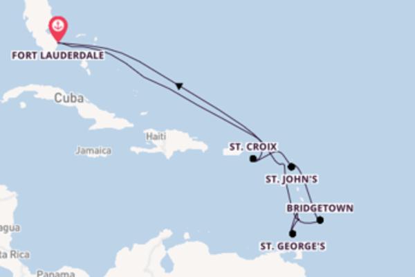 Cruise met Celebrity Cruises naar het avontuurlijke Fort Lauderdale